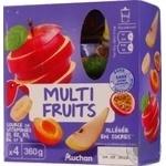 Puree Auchan Auchan fruit 360g