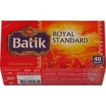 Tea Batik black packed 80g