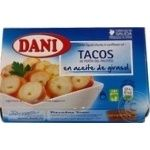 Seafood squid Dani canned 155g