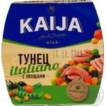 Тунець Kaija Italiano з овочами 185г