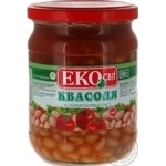 Vegetables kidney bean Eco svit in tomato sauce 500g glass jar