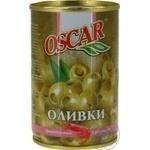 olive Oscar shrimp green canned 300g