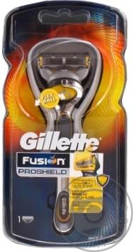 Скидка на Бритва Gillette Fusion ProShield c 1 сменным картриджем