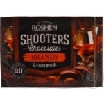 Candy Roshen with brandy 150g in a box