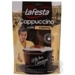 Напиток Ла Феста Капучино Сливочный растворимый вакуумная упаковка 100г Польша
