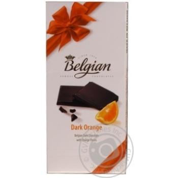 Шоколад The Belgian Bars Orange чорн.100г - купити, ціни на CітіМаркет - фото 1