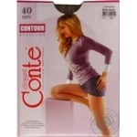 Tights Conte bronze for women 40den 3size