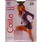Колготы Conte Elegant Contour bronz 40 ден размер 5