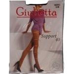 Колготи Giulietta Support 40Den жіночі р.3 Nero