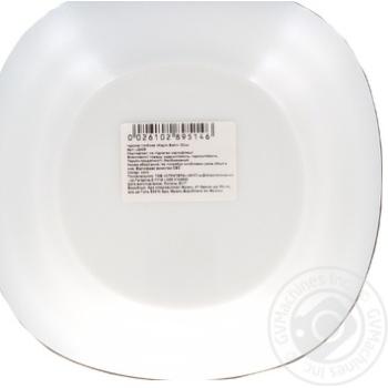 Тарелка суповая Luminarc Carine D2368 23см - купить, цены на Ашан - фото 2