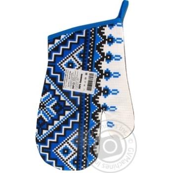 Варежка MFV Этно Украинский стиль вафельная - купить, цены на Ашан - фото 1