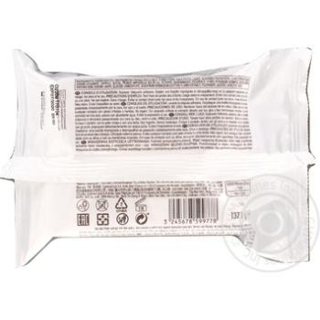 Серветки Cosmia для зняття макіяжу 25шт - купити, ціни на Ашан - фото 2