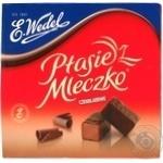 Цукерки шокол. Пташине Молоко з шоколадною начинкою Wedel, 380г