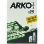 Н-р ARKO Men Anti-Irritation гель д/б+бал п/б -20% шт