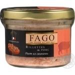 Рієт із свинини Fago с/б 180г