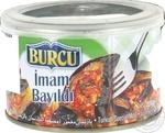 Vegetables eggplant Burcu canned 400g Turkey