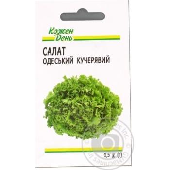 Семена Каждый День Салат Одесский кудрявый 0,5г - купить, цены на Ашан - фото 3