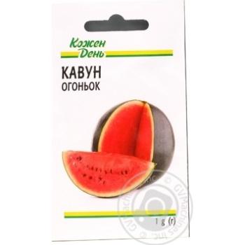 Kozhen Den Ogonjok Watermelon Seeds 1g - buy, prices for Auchan - photo 2