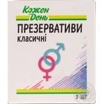 КОЖЕН ДЕНЬ презервативи класичні №3
