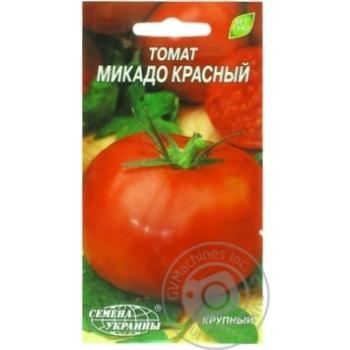 Насіння Євро Томат Мікадо червоний Семена украины 0,2г