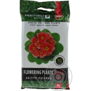 Peatfield Substrate Peat For Flowering Plants 6L - buy, prices for Tavria V - image 1