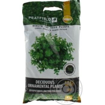 Субстрат торфяний Peatfield для декоративно-листяних 6л - купити, ціни на Ашан - фото 2