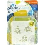 Освіжувач повітря Glade Sensс з магнітом Освіжуючий лимон 8г