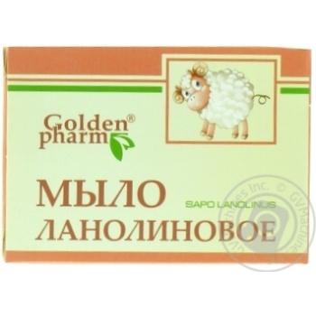 Скидка на МИЛО GOLDEN PHARM ЛАНОЛІНОВЕ 70Г