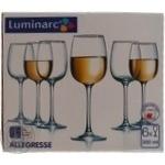Набор бокалов для вина Luminarc Аллегресс 6*300мл шт