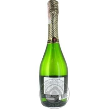 Вино игристое Gran Castillo Viura Chardonnay Semi Seco белое полусухое 10,5% 0,75л - купить, цены на МегаМаркет - фото 3