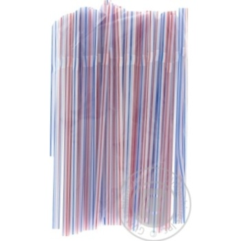 Straws 100 pieces 21cm - buy, prices for Auchan - image 1
