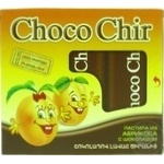 Choco Chir pastillas in apricot with chocolate 50g
