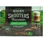 Конфеты шоколадные Roshen Shooters Irish coffee 150г
