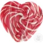 Леденцы на палочке Roks Сердце с фруктово-ягодными вкусами 100г
