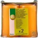 Candle Auchan Auchan with vanilla 2pcs