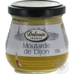Mustard Delouis france Dijon 125g glass jar