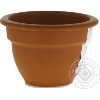 Горшок Кампана керамический 150мл - купить, цены на Ашан - фото 3