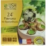 Snail Ukrainian snail holding frozen 24pcs 210g