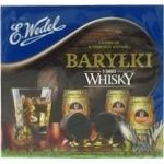 Candy Wedel with taste of whiskey 200g in a box
