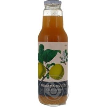 Сік Miriada Fruits яблучний 0,75л
