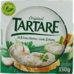 Сир Tartare з часником та травами 150г