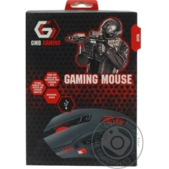 Gembird MUSG-004 Game Mouse - buy, prices for Auchan - photo 1