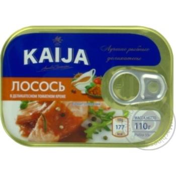 Лосось Kaija в деликатесном томатном креме 110г
