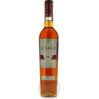 Le Sage Prestige Cognac V.S. 3 yrs 40% 0,5l - buy, prices for Novus - image 1