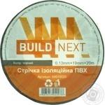 Изолента Build Next черная 20м