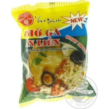 Локшина рисова Bich Chi зі смаком курки 60г - купити, ціни на Novus - фото 1