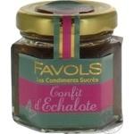 Confiture Favols with onion 50g glass jar