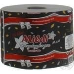 Туалетная бумага Mildi-Maxi 65метрив 230 отрывов белый