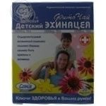 Tea Kluchi zdorovya echinacea packed for children 30g