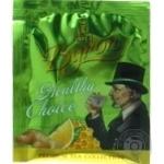 Чай зеленый Lord Byron Healthy Choice  с имбирем медом и лимоном 2г